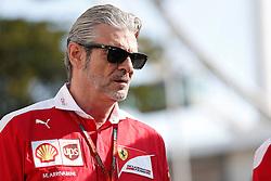 September 16, 2016 - Singapur, Singapur - Motorsports: FIA Formula One World Championship 2016, Grand Prix of Singapore, .Maurizio Arrivabene  (Credit Image: © Hoch Zwei via ZUMA Wire)