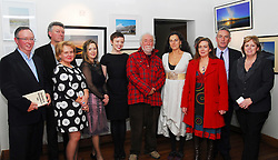 Pictured at the official opening of the Rolling Sun festival at the Clew Bay Hotel were Harry Hughes, Ger Reidy, Aine Ryan, Mairead Bourke, Belinda McKeon, Tony Reidy, Maria Madden, Austin Vaughan and Ursula Skerritt...Pic Conor McKeown