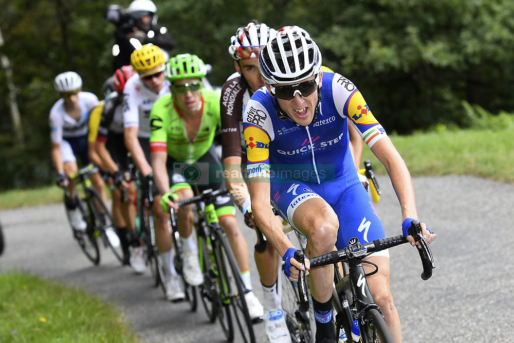 July 14, 2017 - Foix, France - FOIX, FRANCE - JULY 14 : MARTIN Daniel (IRL) Rider of Quick-Step Floors Cycling team during stage 13 of the 104th edition of the 2017 Tour de France cycling race, a stage of 101 kms between Saint-Girons and Foix on July 14, 2017 in Foix, France, 14/07/2017 (Credit Image: © Panoramic via ZUMA Press)