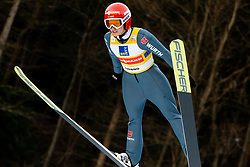 Katharina Althaus of Germany competes during Team Competition at Day 2 of World Cup Ski Jumping Ladies Ljubno 2019, on February 9, 2019 in Ljubno ob Savinji, Slovenia. Photo by Matic Ritonja / Sportida