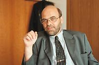 07 JUL 2000, BERLIN/GERMANY:<br /> Norbert Spinrath, Vorsitzender Gewerkschaft der Polizei<br /> IMAGE: 20000707-01/01-35