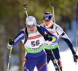 Janez Maric of Slovenia during the Men 20 km Individual of the e.on IBU Biathlon World Cup on Thursday, December 16, 2010 in Pokljuka, Slovenia. The fourth e.on IBU World Cup stage is taking place in Rudno Polje - Pokljuka, Slovenia until Sunday December 19, 2010.  (Photo By Vid Ponikvar / Sportida.com)