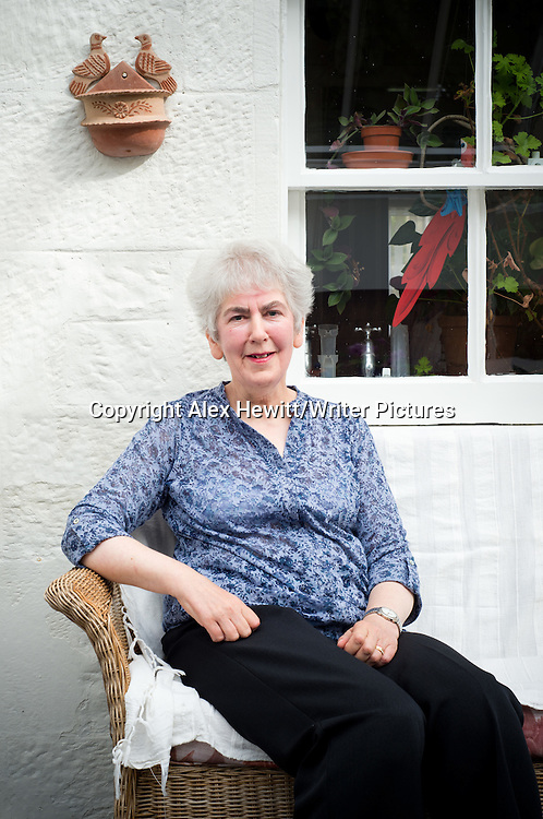 Elizabeth Cumming - Great niece of the painter William Skeoch Cumming poses at her Edinburgh home. 9th September 2014<br /> <br /> Photograph copyright Alex Hewitt<br /> No reproduction without prior agreement<br /> alex.hewitt@gmail.com<br /> 07789 871540Elizabeth Cumming - Great niece of the painter William Skeoch Cumming. Pictured at her Edinburgh home. 9th September 2014<br /> <br /> Picture by Alex Hewitt/Writer Pictures<br /> <br /> World Rights