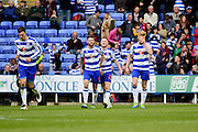 Reading Stephen Quinn (21) celebrates his goal during the Sky Bet Championship match between Reading and Preston North End at the Madejski Stadium, Reading, England on 30 April 2016. Photo by Jon Bromley.