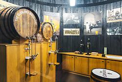 THEMENBILD - Museums Schauraum der Glenlivet Whiskey Destillerie bei Ballindalloch, Schottland, aufgenommen am 08. Juni 2015 // Museum showroom at the Glenlivet whiskey distillery salesroom near Ballindalloch, Scotland on 2015/06/08. EXPA Pictures © 2015, PhotoCredit: EXPA/ JFK