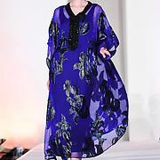 Designer Safia Halim showcases at the London Arabia Art & Fashion Week 2019 at Jumeirah Carlton Tower, on 5 August 2019, London, UK.