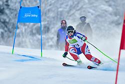 GALLAGHER Kelly, Guide: SMITH Gary, B3, GBR, Men's Giant Slalom at the WPAS_2019 Alpine Skiing World Championships, Kranjska Gora, Slovenia