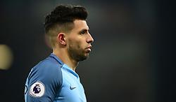 Sergio Aguero of Manchester City - Mandatory by-line: Alex James/JMP - 13/02/2017 - FOOTBALL - Vitality Stadium - Bournemouth, England - Bournemouth v Manchester City - Premier League