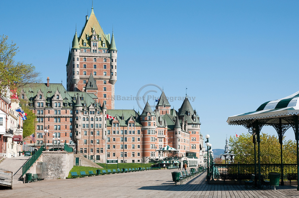 """Designed by the American architect Bruce Price, the Chateau Frontenac was one of a series of """"château"""" style hotels built for the Canadian Pacific Railway company at the end of the 19th and the start of the 20th century."""