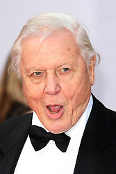 SIR DAVID ATTENBOROUGH arrives for the BAFTA TV Awards at the Theatre Royal, London, United Kingdom. Sunday, 18th May 2014. Picture by i-Images