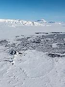 Holuhraun in wintertime 2018