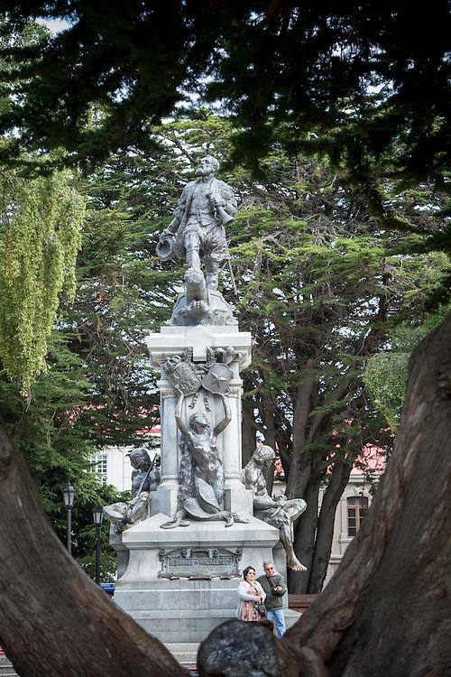 Hernando de Magallanes Monument Punta Arenas Chile