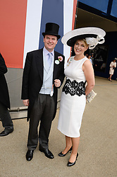 LORD & LADY DALMENY at the 2nd day of the 2013 Royal Ascot Horseracing festival at Ascot Racecourse, Ascot, Berkshire on 19th June 2013.