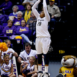 Mar 26, 2013; Baton Rouge, LA, USA; Penn State Lady Lions guard Alex Bentley (20) shoots against the LSU Tigers in the first half during the second round of the 2013 NCAA womens basketball tournament at Pete Maravich Assembly Center. Mandatory Credit: Derick E. Hingle-USA TODAY Sports