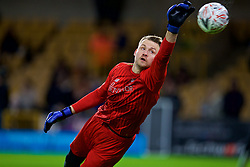 WOLVERHAMPTON, ENGLAND - Monday, January 7, 2019: Liverpool's goalkeeper Simon Mignolet during the pre-match warm-up before the FA Cup 3rd Round match between Wolverhampton Wanderers FC and Liverpool FC at Molineux Stadium. (Pic by David Rawcliffe/Propaganda)