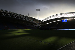 26th November 2017 - Premier League - Huddersfield Town v Manchester City - Sunshine on a rainy day at The John Smith's Stadium - Photo: Simon Stacpoole / Offside.