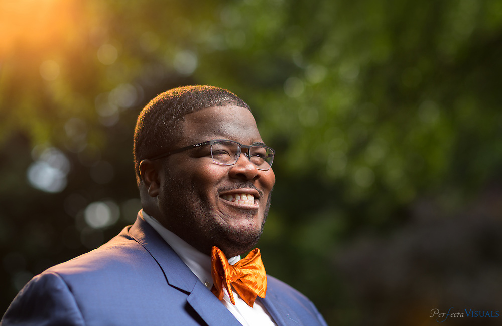 Andre Taylor<br /> <br /> Photographed, Sunday, September 24, 2017, in Greensboro, N.C. JERRY WOLFORD and SCOTT MUTHERSBAUGH / Perfecta Visuals
