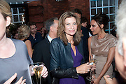 NATALIE MASSENET;, Alexandra Shulman, Editor of Vogue & Phil Popham, Managing Director of Land Rover<br /> host the 40th Anniversary of Range Rover. The Orangery at Kensington Palace. London. 1 July 2010. -DO NOT ARCHIVE-© Copyright Photograph by Dafydd Jones. 248 Clapham Rd. London SW9 0PZ. Tel 0207 820 0771. www.dafjones.com.