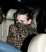 22.JUNE.2010.  LONDON<br /> <br /> BILLIE PIPER AND HUSBAND LAURANCE FOX LEAVING GROUCHO CLUB IN SOHO AT 1.30AM AND TRYING TO COVER THEIR FACES AS THEY GOT IN THE CAR.<br /> <br /> BYLINE MUST READ : EDBIMAGEARCHIVE.COM<br /> <br /> *THIS IMAGE IS STRICTLY FOR UK NEWSPAPERS AND MAGAZINES ONLY*<br /> * FOR WORLD WIDE SALES AND WEB USE PLEASE CONTACT EDBIMAGEARCHIVE - 0208 954 5968*