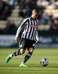 Graham Burke of Notts County in action - Mandatory byline: Jack Phillips / JMP - 07966386802 - 11/10/2015 - FOOTBALL - Meadow Lane - Nottingham, Nottinghamshire - Notts County v Plymouth Argyle - Sky Bet Championship