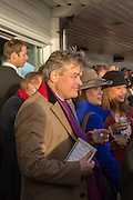LORD CARNARVON, Hennessy Gold Cup, The Racecourse Newbury. 30 November 2013.