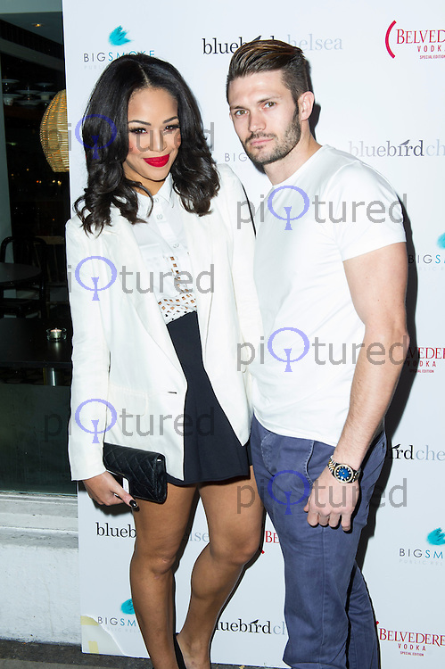 Sarah Jane Crawford & Ross Harland, Bluebird Chelsea Ice Rink - launch, Bluebird 350 King's Road, London UK, 15 November 2013, Photo by Raimondas Kazenas