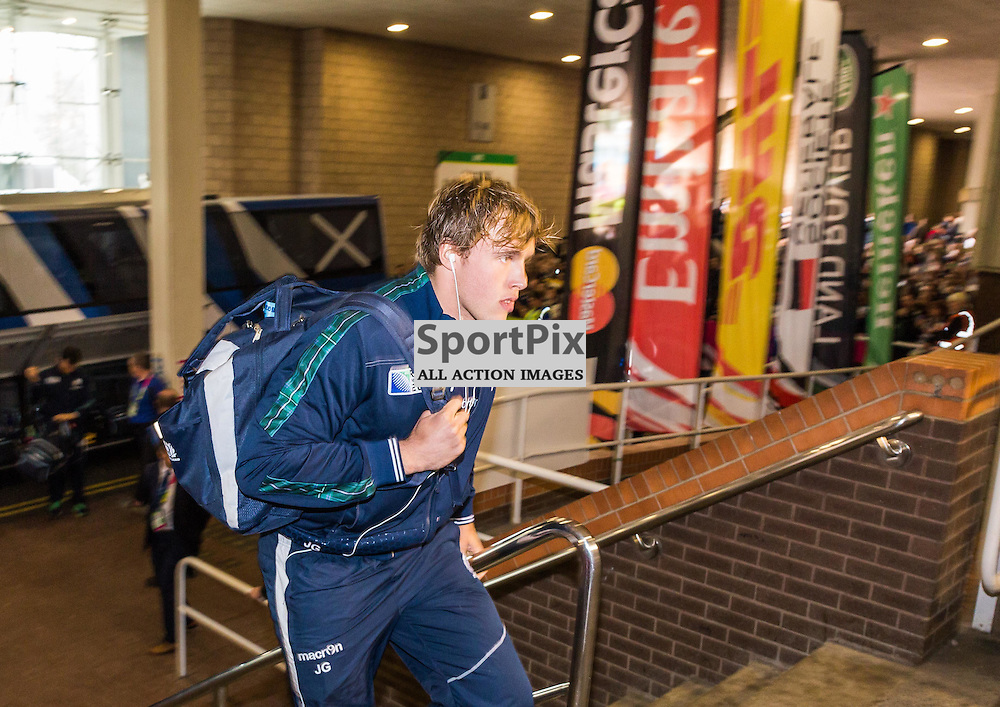 Johnny Gray arrives before the Rugby World Cup match between New Zealand and Tonga (c) ROSS EAGLESHAM | Sportpix.co.uk