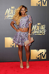 Egypt Criss, at the 2016 MTV Movie Awards, Warner Bros. Studios, Burbank, CA 04-09-16. EXPA Pictures © 2016, PhotoCredit: EXPA/ Photoshot/ Martin Sloan<br /> <br /> *****ATTENTION - for AUT, SLO, CRO, SRB, BIH, MAZ, SUI only*****