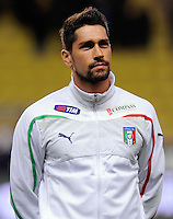 Fussball International, Italienische Nationalmannschaft  Italien - Kamerun 03.03.2010 Marco Borriello (ITA)