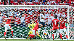 19.06.2016, Stade Pierre Mauroy, Lille, FRA, UEFA Euro, Frankreich, Schweiz vs Frankreich, Gruppe A, im Bild Yann Sommer (SUI), Stephan Lichtsteiner (SUI), Patrice Evra (FRA), Breel Embolo (SUI), Ricardo Rodriguez (SUI) // Yann Sommer (SUI), Stephan Lichtsteiner (SUI), Patrice Evra (FRA), Breel Embolo (SUI), Ricardo Rodriguez (SUI) during Group A match between Switzerland and France of the UEFA EURO 2016 France at the Stade Pierre Mauroy in Lille, France on 2016/06/19. EXPA Pictures © 2016, PhotoCredit: EXPA/ JFK