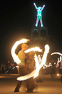 Burning Man.<br />