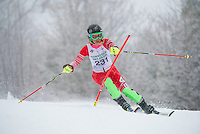 Francis Piche Giant Giant Slalom Ladies U14 on  Cannonball. ©2015 Karen Bobotas Photographer