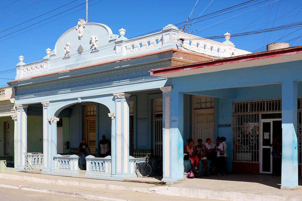 Old building in San Luis, Pinar del Rio, Cuba.