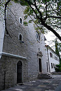 Krka Franciscan Monastery, island of Visovac, Krka National Park, Croatia
