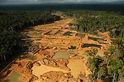 Alluvial Gold Mining<br /> Rainforest<br /> GUYANA<br /> South America
