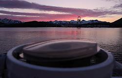 USA ALASKA DUTCH HARBOR 4JUL12 - Container terminal in Dutch Harbor in Unalaska Island, Alaska, USA...Photo by Jiri Rezac / Greenpeace....© Jiri Rezac / Greenpeace
