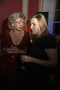 DEBORAH MOGGANCH AND SUSIE BOYT, Literary Review's Bad Sex In Fiction Prize.  In & Out Club (The Naval & Military Club), 4 St James's Square, London, SW1, 29 November 2006. <br />