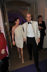 LORENZO & SABRINA GRABAU at The Surrealist Ball in aid of the NSPCC in association with Harpers Bazaar magazine held at the Banqueting House, Whitehall, London on 17th March 2011.