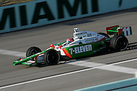 Tony Kanaan at the Homestead-Miami Speedway, Toyota Indy 300, March 6, 2005