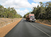 AUSTRALIA - BEEDELUP A general view of  a road and signpost in the Beddelup National Park 11/01/2010. STEPHEN SIMPSON...