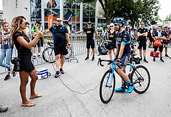 David Lozano (ESP) of Team Novo Nordisk after the 4th Stage of 26th Tour of Slovenia 2019 cycling race between Nova Gorica and Ajdovscina (153,9 km), on June 22, 2019 in Slovenia. Photo by Vid Ponikvar / Sportida