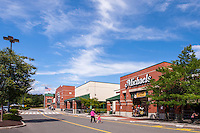 Retail center exterior photo of Berkshire Crossing Shopping Center in Pittsfield Mass by Jeffrey Sauers of Commercial Photographics