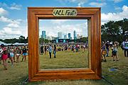 Austin City Limits Music Festival, Austin, Texas October 11, 2013.