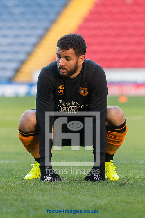 Kevin Stewart of Hull City warms up ahead of during the FA Cup match between Blackburn Rovers and Hull City<br /> Picture by Matt Wilkinson/Focus Images Ltd 07814 960751<br /> 06/01/2018