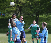 Docs Hibernia (green) v Riverside CSC (light blue)  - Dundee Saturday Morning Football League at Drumgieth<br /> <br />  - &copy; David Young - www.davidyoungphoto.co.uk - email: davidyoungphoto@gmail.com