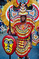 Philippines, ile de Panay, ville de Kalibo, festival de Ati Atihan // Philippines, Panay island, Kalibo city, Ati Atihan festival