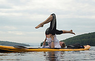 Paddle Board Yoga 6Aug14