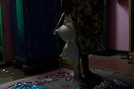 Dressing-up ritual, Varanasi, India