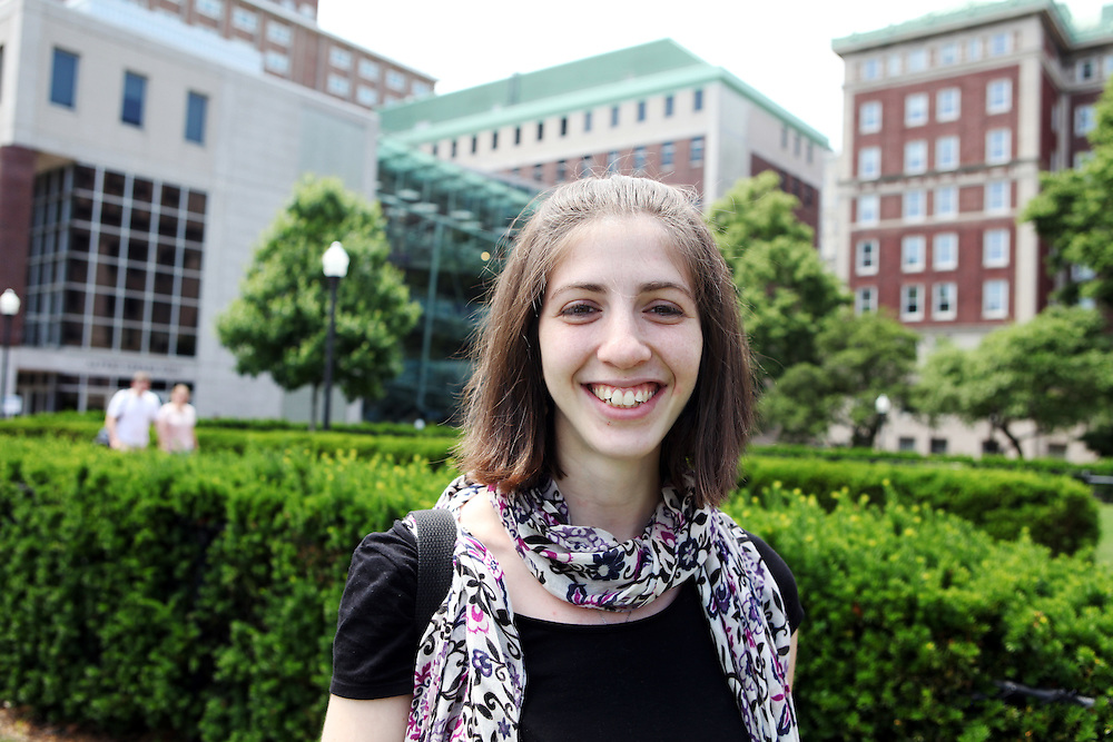"Natalie Kimmelman '06..""Learn how to use the stacks in Butler Library early on."""