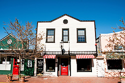 Main Street Shops, shopping, Tiburon, California, USA.  Photo copyright Lee Foster.  Photo # california108951